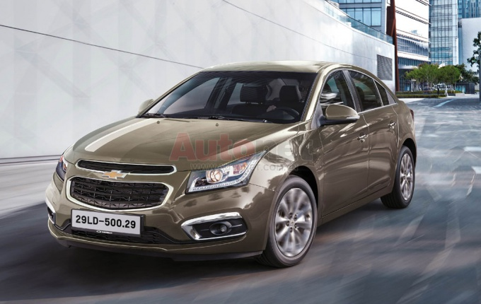 Best-selling Chevrolet car to be available in Vietnam