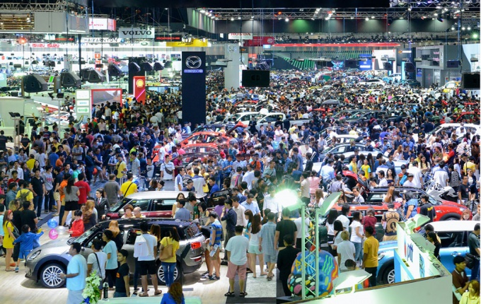 Thailand International Motor Expo 2016 about to open
