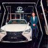 Lexus RC Turbo featured at Vietnam International Fashion Weekfall Winter 2016