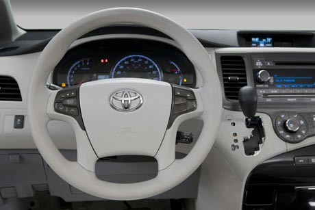 Toyota Sienna được đưa vào sản xuất