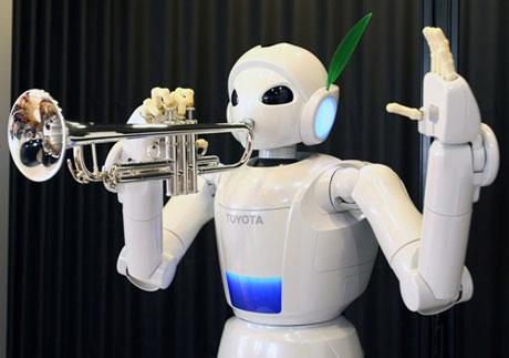"""Bộ tứ """"robot bạn hiền"""" của Toyota"""