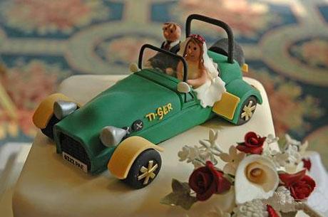 Bánh sinh nhật cho người mê xe