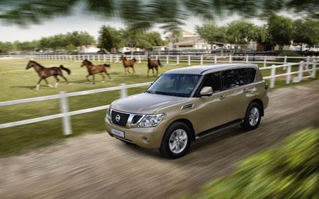 Nissan Patrol 2010: Tiếp bước hành trình