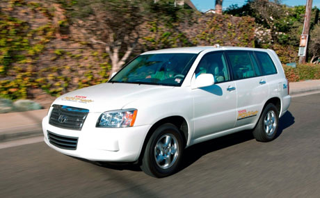 Toyota FCHV-adv hydrogen fuel cell hybrid