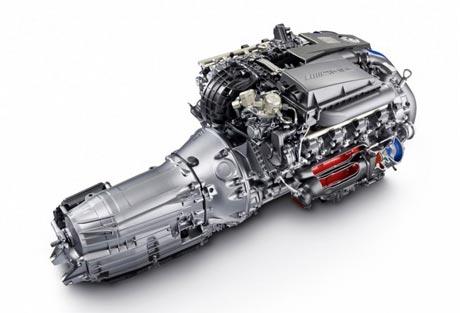 Mercedes-AMG giới thiệu động cơ V8 5.5L mới
