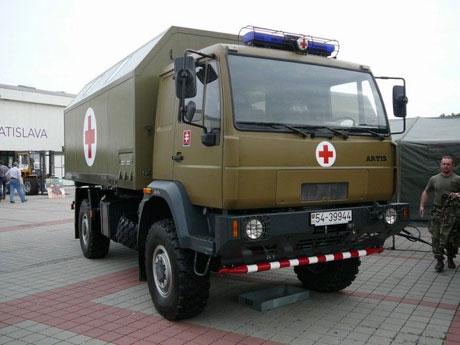 Xe cứu thương trong quân đội