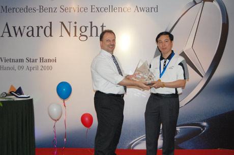 Vietnam Star HN đạt giải Dịch vụ xuất sắc