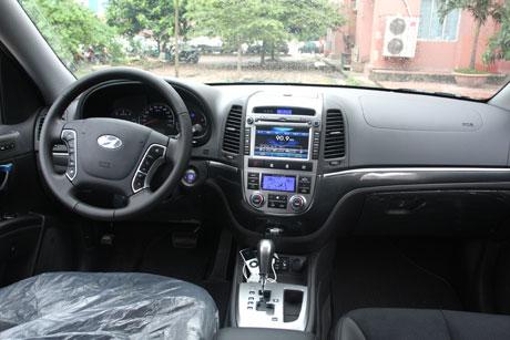 Những nét mới trên Hyundai SantaFe 2011