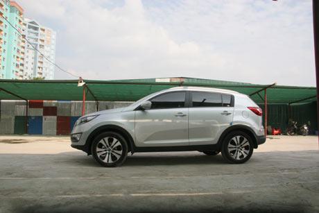 Kia Sportage tại Việt Nam có giá 44.000USD