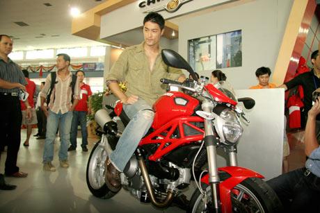 """Trí Nguyễn: """"Tôi thích phong cách Ducati"""""""