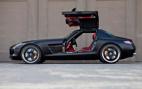 """""""Áo mới"""" của Mercedes SLS AMG"""