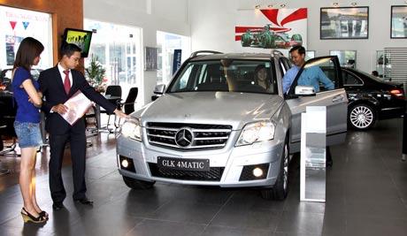 Nửa đầu 2010: Mercedes đạt doanh số kỷ lục