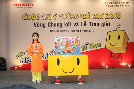 Trao giải cuộc thi Ý tưởng trẻ thơ 2010