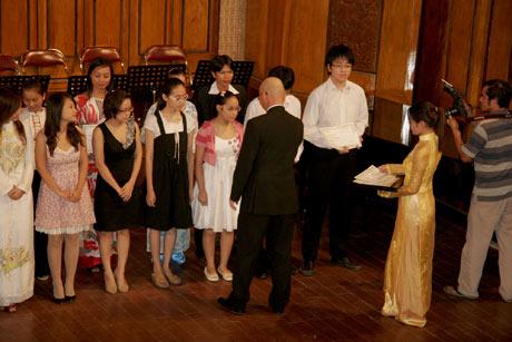 Học bổng Toyota cho tài năng trẻ âm nhạc