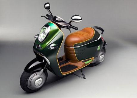 Mini giới thiệu xe điện Scooter E