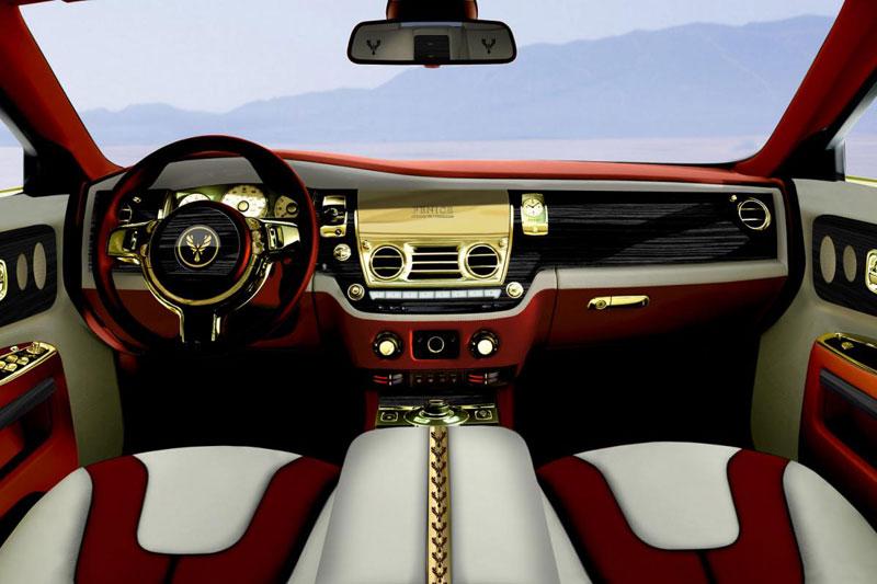 Chiêm ngưỡng Rolls-Royce Ghost mạ vàng