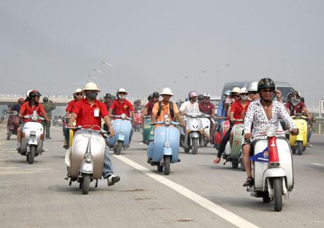 Ngày hội Scooter VN 2010 – Cảm xúc đọng lại