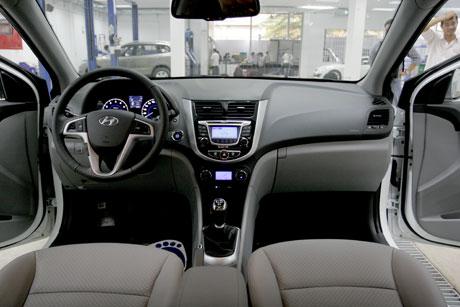 Hyundai Accent ra mắt với giá hấp dẫn