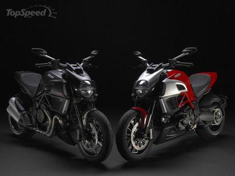 Chiếc xe máy của năm 2010 – Ducati Diavel