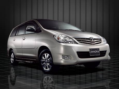 Toyota Innova tiếp tục ngự trị ngôi đầu bảng
