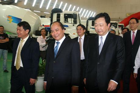 Thaco xuất xưởng xe thương mại Hyundai