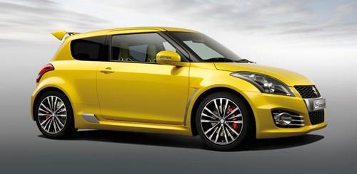 Suzuki ra mắt mẫu xe Swift Sport 2012