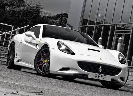 Project Kahn độ Ferrari California