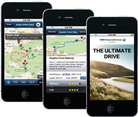 Phần mềm chia sẻ lộ trình của BMW