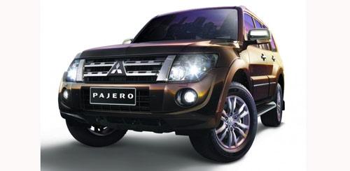 Mẫu xe Mitsubishi Pajero thế hệ mới ra mắt