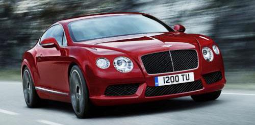 Chiếc xe V8 cho Continental GT với động cơ mạnh mẽ