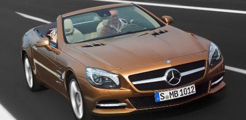 Mẫu xe được Mercedes SL Roadster được ra mắt phiên bản mới