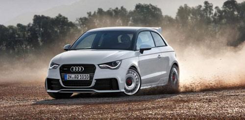 Mẫu xe Audi giới thiệu A1 Quattro nhiều điểm mới