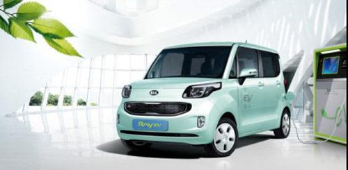 Những chiếc xe chạy điện đầu tiên của Hàn Quốc ra mắt
