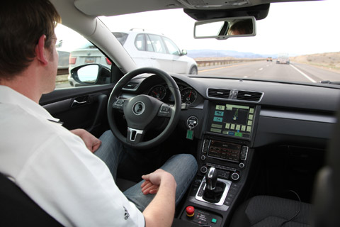 Continental thử nghiệm xe lái tự động