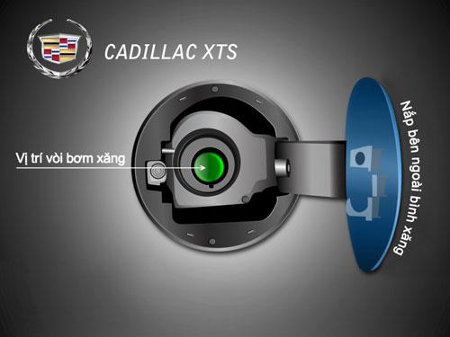 Làm thế nào để loại bỏ nắp bình xăng trên Cadillac XTS?