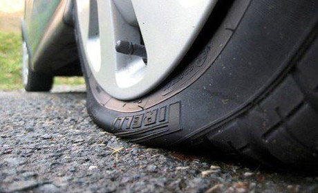 Áp suất lốp thấp có thể gây tai nạn