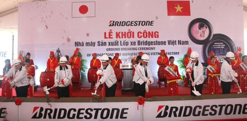 Bridgestone breaks ground on Vietnam tire plant