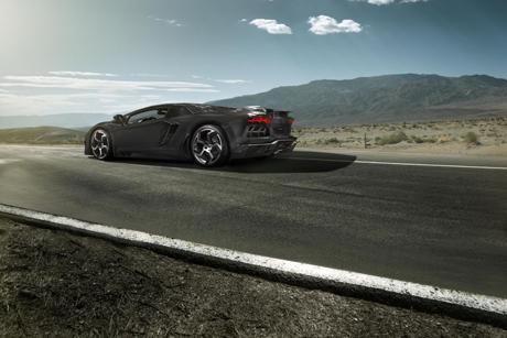Ngây ngất với Aventador làm từ sợi carbon - ảnh 1