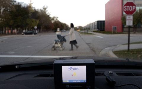 Sử dụng điện thoại để phát hiện người đi bộ - ảnh 2