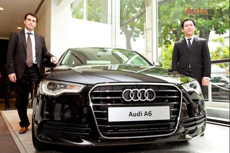 """Audi của chúng tôi sẽ mang đến triển lãm lần này những xu hướng sáng tạo mới đúng theo phương châm """"Tiên phong trong công nghệ""""."""