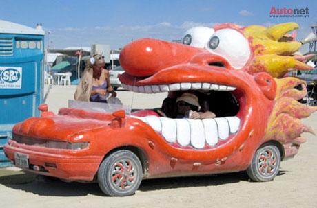 Chiếc xe có thiết kế ngộ nghĩnh