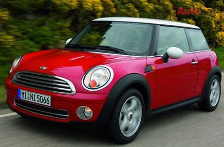 Mini Cooper mẫu xe đẹp mang nét cổ.