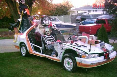 """Những chiếc xe """"đáng sợ"""" cho ngày Halloween"""