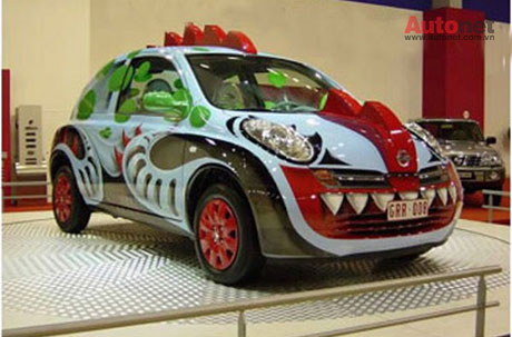 Nissan Micra độ kier rồng