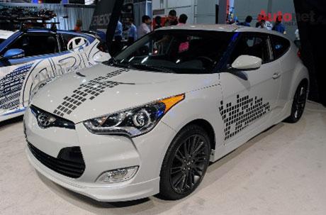 Hyundai Veloster độ – phong cách trẻ và cá tính