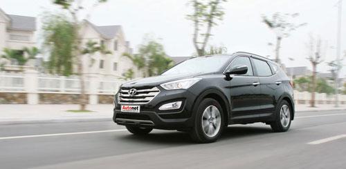 Hyundai Santafe 2013, khẳng định lòng tin