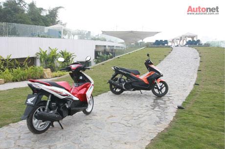 Honda Air Blade 125cc mang trên mình thiết kế cách tân