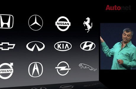 """""""iOS in the car"""" giúp tài xế lái xe an toàn hơn"""