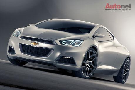 Thế hệ mới của Cruze lấy cảm hứng từ Chevrolet Tru 140S coupe concept