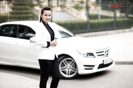 Mercedes-Benz giúp Huyền tự tin hơn với hình ảnh của mình